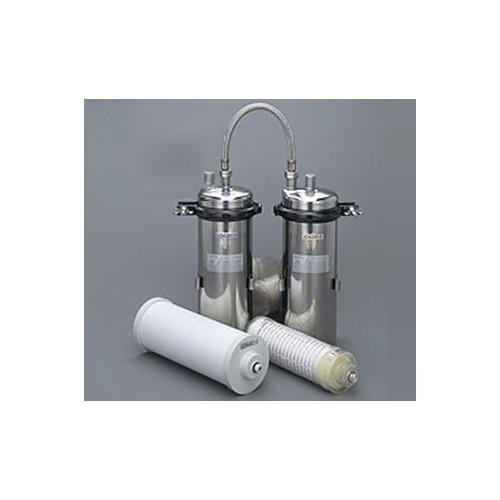 キッツマイクロフィルター:オアシックス業務用B浄水器(2筒式・流量計なし) <TOAS-N1> 型式:TOAS-N1