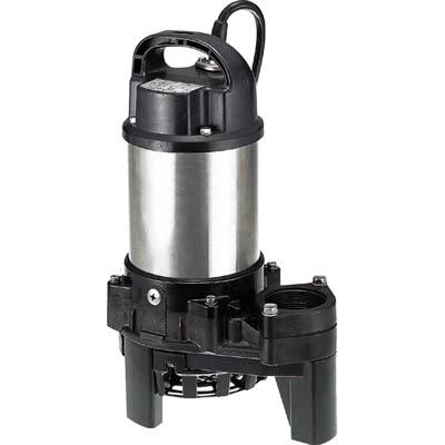 鶴見製作所:ツルミ 樹脂製雑排水用水中ハイスピンポンプ 50HZ 40PN2.25S 50HZ 型式:40PN2.25S 50HZ