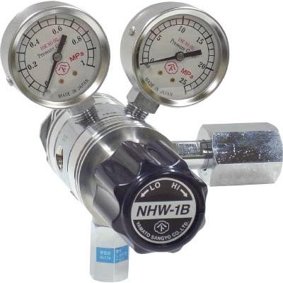 ヤマト産業:ヤマト 分析機用フィン付二段圧力調整器 NHW-1B NHW1BTRCCO2 型式:NHW1BTRCCO2