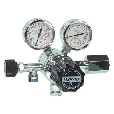 ヤマト産業:ヤマト 分析機用二段圧力調整器 MSR-1B MSR1B12TRC 型式:MSR1B12TRC