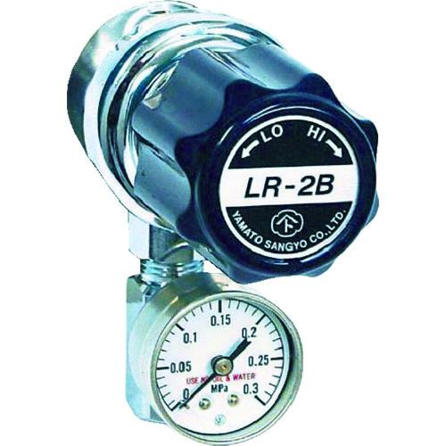 ヤマト産業:ヤマト 分析機用ライン圧力調整器 LR-2B L9タイプ LR2BRL9TRC 型式:LR2BRL9TRC