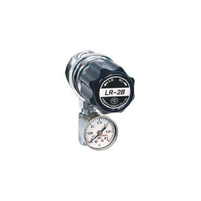 ヤマト産業:ヤマト 分析機用ライン圧力調整器 LR-2S L9タイプ LR2SRL9TRC 型式:LR2SRL9TRC