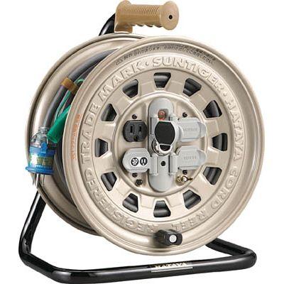 ハタヤリミテッド:ハタヤ サンタイガーリール 単相100Vアース付 50m 温度センサー付 GT-501KX 型式:GT-501KX