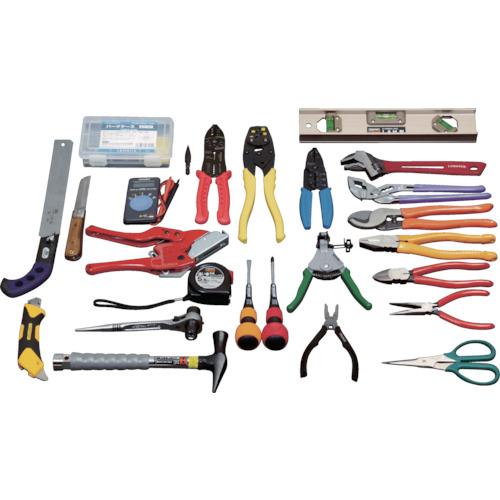 トラスコ中山:TRUSCO ピカイチ プロ用電設工具セット 26点セット PK-D1 型式:PK-D1
