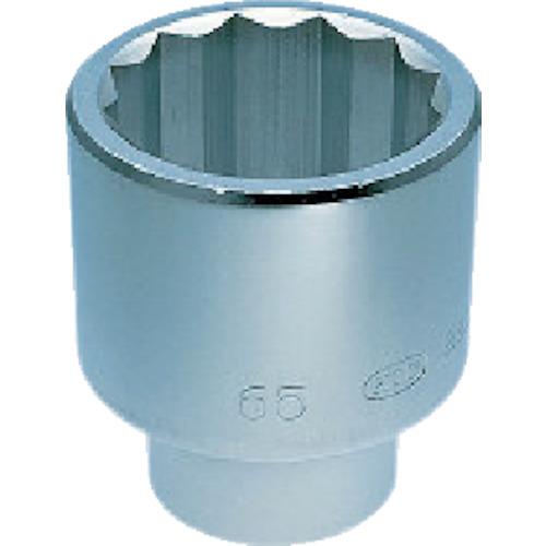 京都機械工具(KTC):KTC 25.4sq.ソケット(十二角) 100mm B50-100 型式:B50-100