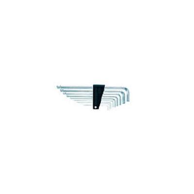 京都機械工具(KTC):KTC ハイグレードボールポイントL形ロング六角棒レンチセット[9本組] HLD2509 型式:HLD2509