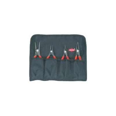 KNIPEX(クニペックス):KNIPEX 4本組 スナップリングプライヤー 001957 型式:001957(1セット:4本入)
