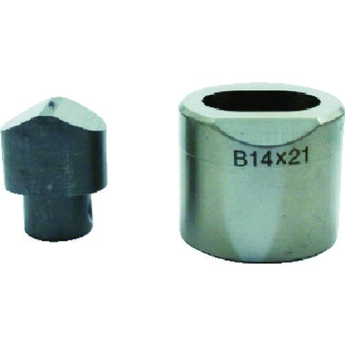 育良精機製作所:育良 フリーパンチャー替刃 IS-BP18S・IS-MP18LE用 14X21B 型式:14X21B