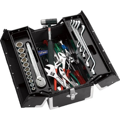 【超特価sale開催!】 TSS460ツールセット TSS460BK TONE:TONE 型式:TSS460BK:配管部品 店-DIY・工具