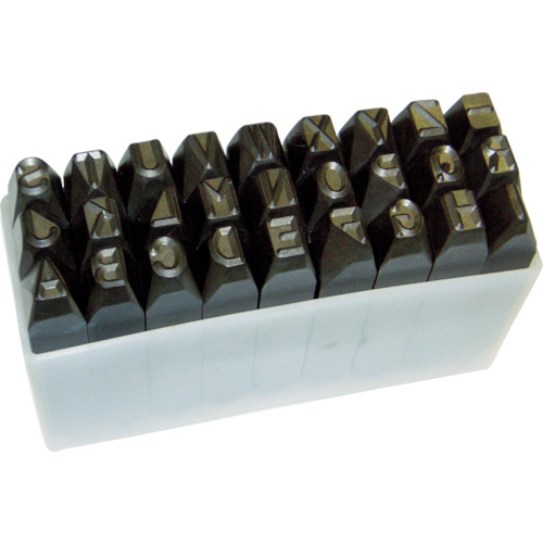 トラスコ中山:TRUSCO 英字刻印セット 16mm SKA-160 型式:SKA-160