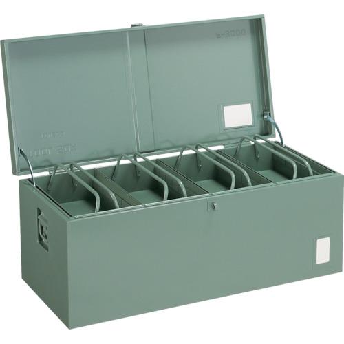 トラスコ中山:TRUSCO 中型車載用工具箱 中皿付 900X420X370 F-9000 型式:F-9000