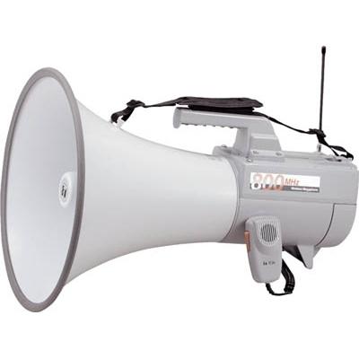 TOA:TOA ワイヤレスメガホン ホイッスル音付き ER-2830W 型式:ER-2830W