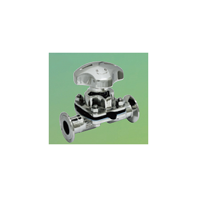 日本ダイヤバルブ:手動操作式バイオクリーンダイヤフラム弁 型式:B414(B1)N-TX/CE 10