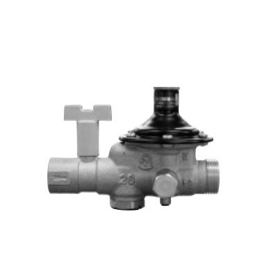 ベン:止水栓付減圧弁(弁慶シリーズ(水・温水用) 型式:RD45SUN-FLBL(1)