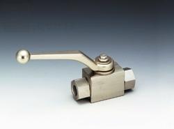 フジトク:NBシリーズ ステンレス鋼製 二方高圧ボールバルブ 型式:NB-2-8-SUS(標準)
