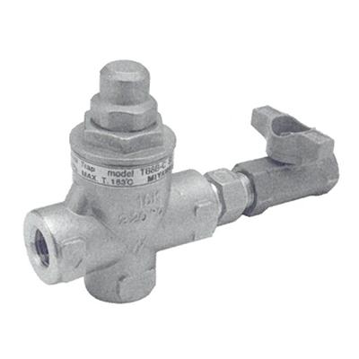 ミヤワキ:銅管トレース用温調トラップ 型式:TBC2B-6C-8A