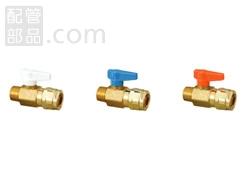 オンダ製作所:ダブルロックバルブ テーパおねじ 黄銅製 型式:WB1-1313A-S(1セット:80個入)