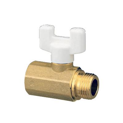 オンダ製作所:AE3型ボールバルブ 黄銅製 お買得パック 型式:AE3-13M(1セット:100個入)