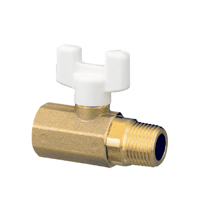 オンダ製作所:AE4型ボールバルブ 黄銅製 お買得パック 型式:AE4-13M(1セット:10個入)