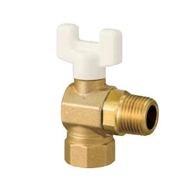 オンダ製作所:AL2型(アングル)ボールバルブ 黄銅製 お買得パック <AL2> 型式:AL2-20(1セット:10個入)