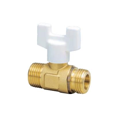 オンダ製作所:AU1型ボールバルブ 黄銅製 お買得パック 型式:AU1-20(1セット:10個入)