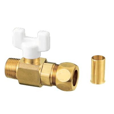 オンダ製作所:AJ2型ボールバルブ 黄銅製 お買得パック <AJ2-13> 型式:AJ2-1315(1セット:10個入)