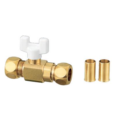オンダ製作所:AJ3型ボールバルブ 黄銅製 お買得パック <AJ3> 型式:AJ3-15(1セット:50個入)
