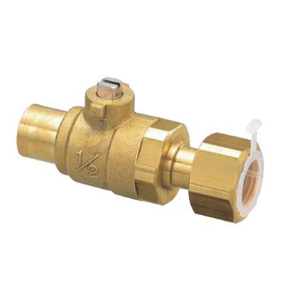 オンダ製作所:S2型(ソルダー)ボールバルブ 黄銅製 お買得パック <S2> 型式:S2-1520(1セット:80個入)
