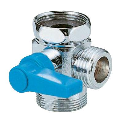 オンダ製作所:浄水器用切替バルブ 黄銅製 お買得パック <VB-618> 型式:VB-618(1セット:10個入)