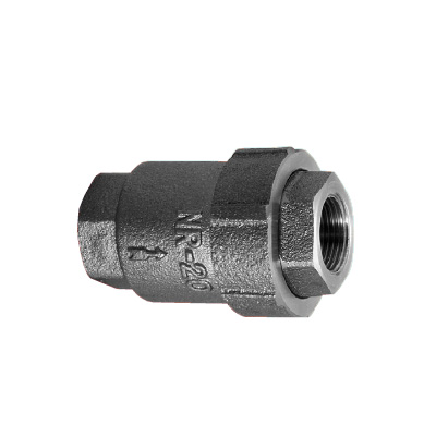 ケイヒン:NRシリーズ 水・油・空気・ガス・蒸気・その他用(逆止弁(NRシリーズ)) 型式:NR-25(テフロン)