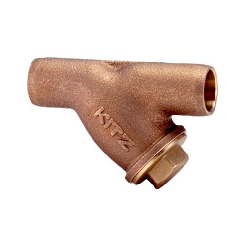 キッツ(KITZ):銅管接続用 Y形ストレーナ 型式:KITZ-CY-80