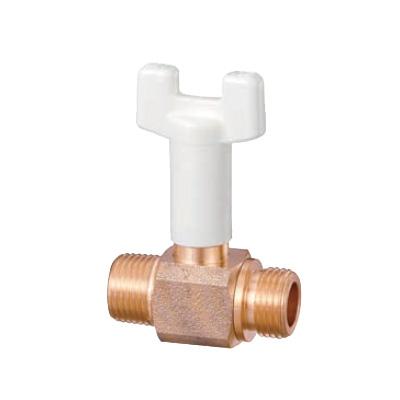 オンダ製作所:BS1型 ボールバルブ 青銅製 日本水道協会認証登録品 お買得パック <BS1-S> 型式:BS1-25-S(1セット:60個入)