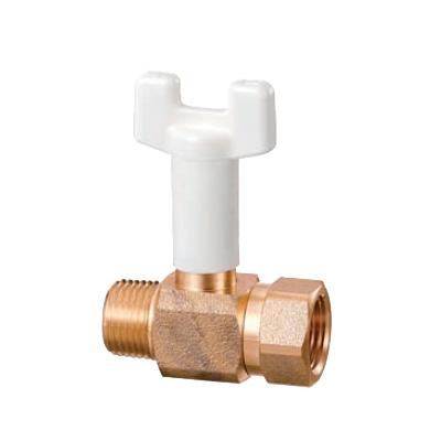 オンダ製作所:BS3型 ボールバルブ 青銅製 日本水道協会認証登録品 お買得パック <BS3-S> 型式:BS3-25-S(1セット:10個入)