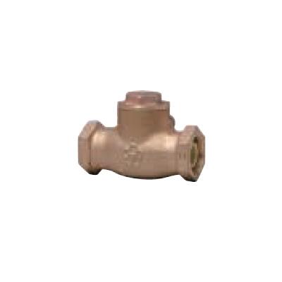 大和バルブ:青銅バルブ(給湯用コアリング) スイングチェッキバルブ 型式:10C-HN-40