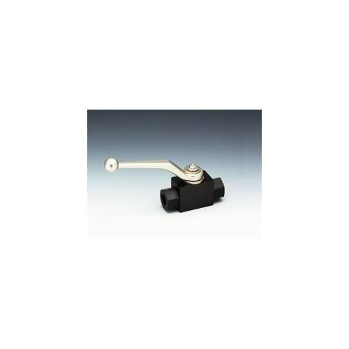 フジトク:NBシリーズ 炭素鋼製 二方高圧ボールバルブ 型式:NB-2-8(標準)