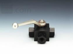 フジトク:NBシリーズ 炭素鋼製 三方高圧ボールバルブ(Tポート) 型式:NB-6-2(標準)