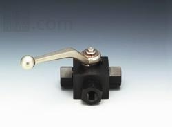 新着商品 フジトク:NBシリーズ 炭素鋼製 三方高圧ボールバルブ(Lポート) 型式:NB-7-6(標準):配管部品 店-DIY・工具