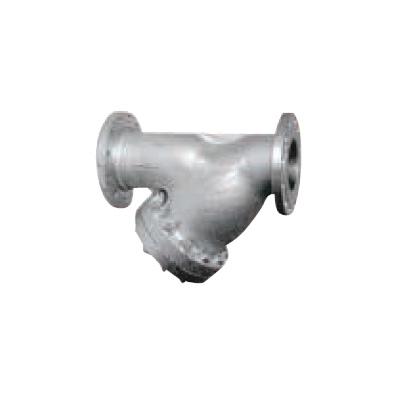 大和バルブ:鋳鋼バルブ Y形ストレーナ 型式:C20Y-20