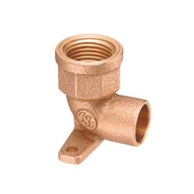 オンダ製作所:座付水栓エルボ 青銅製 日本水道協会認証登録品 お買得パック 型式:PD-007-S(1セット:160個入)