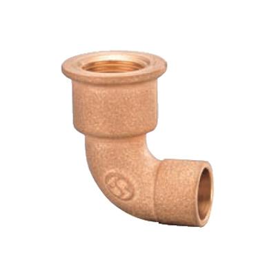 オンダ製作所:首長水栓エルボ 青銅製 日本水道協会認証登録品 お買得パック 型式:PD-018-S(1セット:100個入)