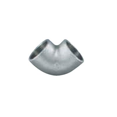 継手 25%OFF フランジ 鉄管継手 交換無料 ねじ込み継手 型式:L-3 エルボ 4-白-日立 日立金属:白継手