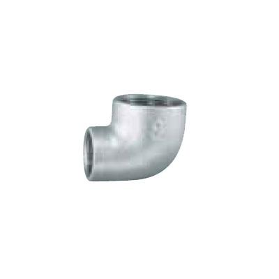 日立金属:白継手・径違エルボ(一段落ち) 型式:BRL-6×5-白