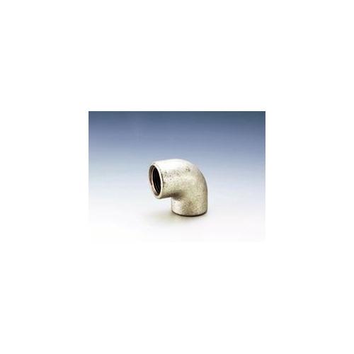 JFE継手:白継手・エルボ(ねじ込白継手) (お買い得パック) 型式:L-1/4-白-N(1セット:400個入)