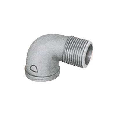 帝国金属:白継手 ストリートエルボ (お買い得パック) 型式:SL-3/8-白-カブト(1セット:200個入)