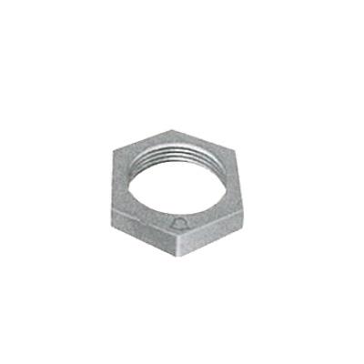 帝国金属:白継手 ロックナット (お買い得パック) 型式:LN-1/2-白-カブト(1セット:400個入)