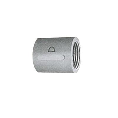 帝国金属:白継手 ソケット (お買い得パック) 型式:S-1/4-白-カブト(1セット:400個入)