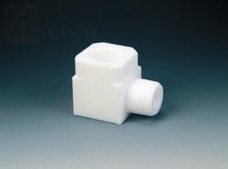 フロンケミカル:フッ素 パイプエルボーアダプター 型式:NR1109-005