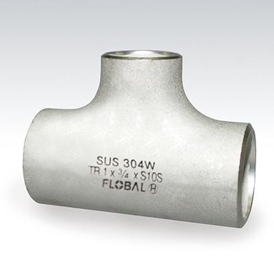 """フローバル:SUSチーズ異径 型式:B-T(R)-10S-12""""×6"""""""