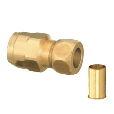オンダ製作所:ダブルロックジョイント 銅管変換アダプター 型式:WJ35C-1516-S(1セット:32個入)