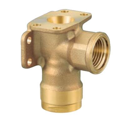 オンダ製作所:ダブルロックジョイント 両座水栓エルボ 黄銅製 型式:WL33A-2020-S(1セット:4個入)